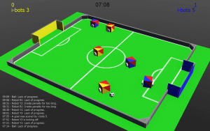 RoboCup Junior: Soccer Simulation Demo Competition 2021